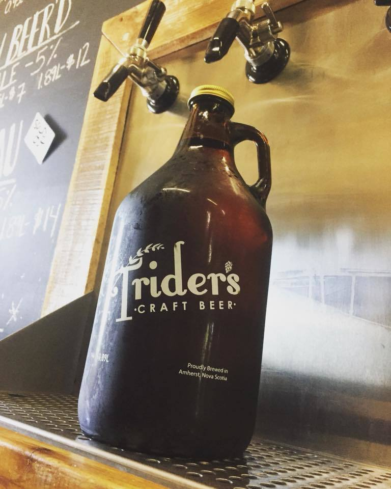 A Trider's growler.
