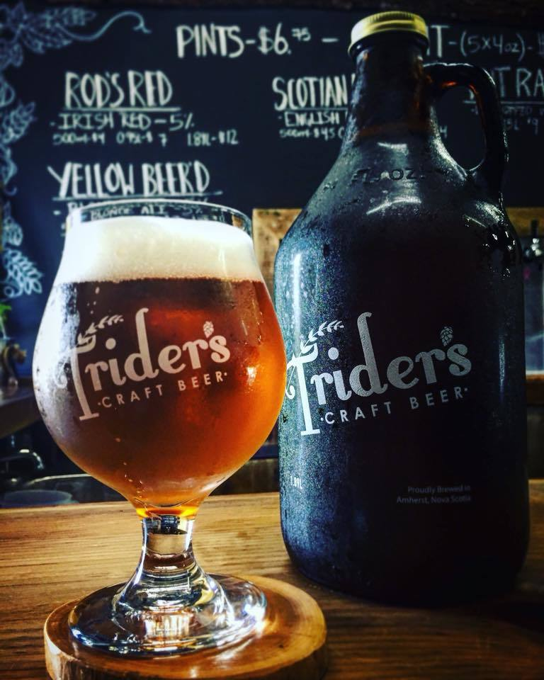 A pint of Trider's.