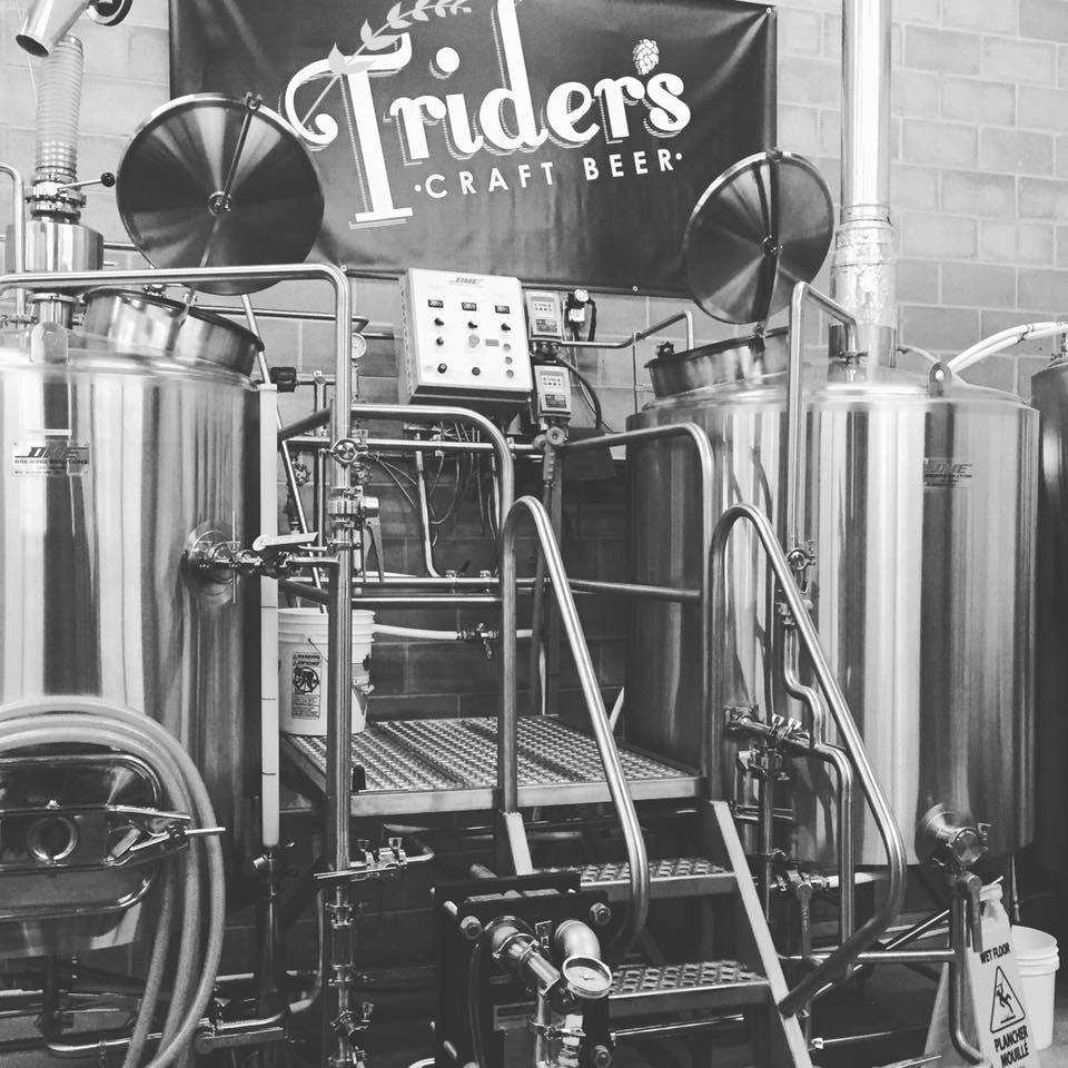 Brewery equipment.